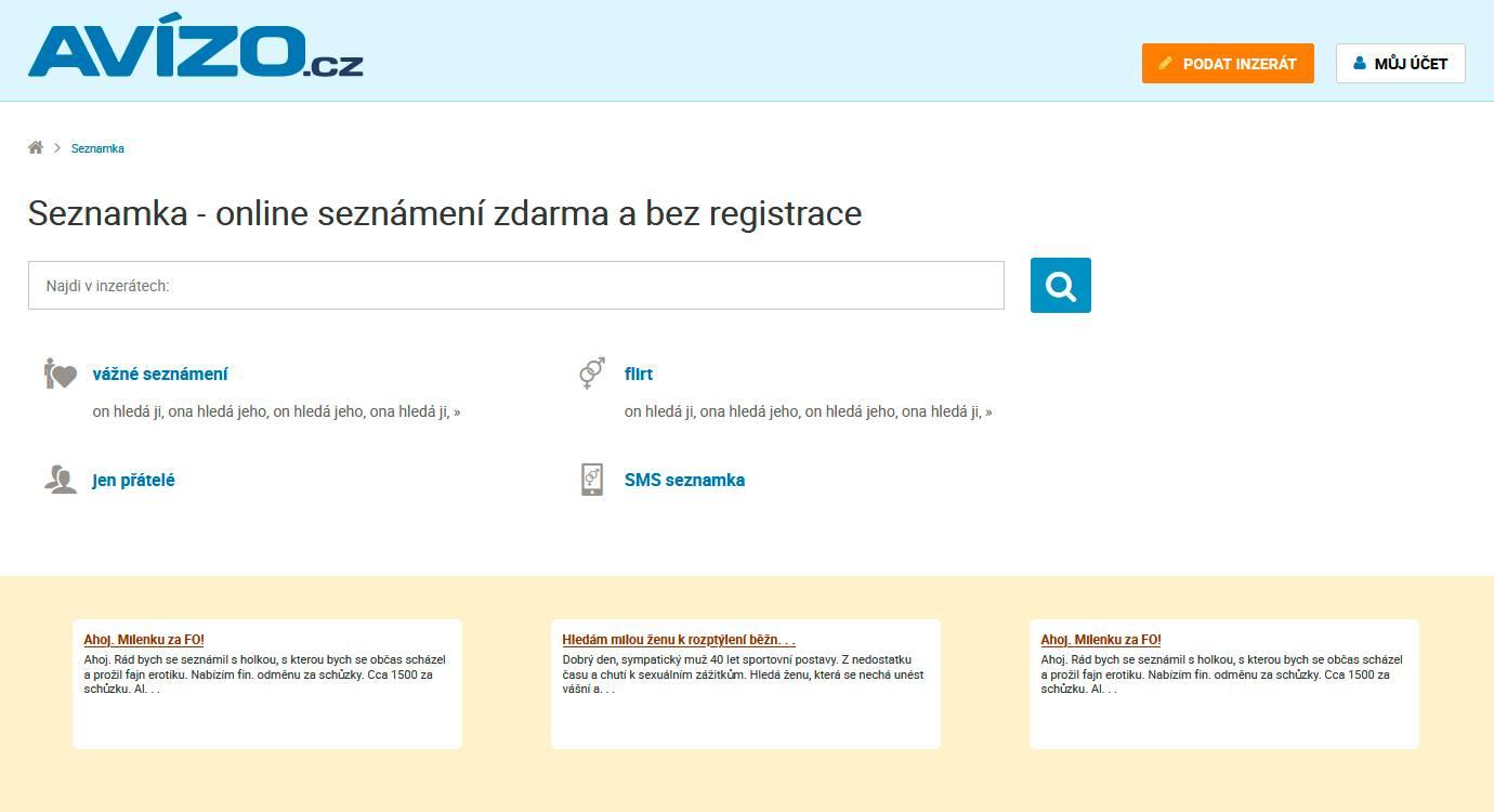 Seznamka avizo.cz