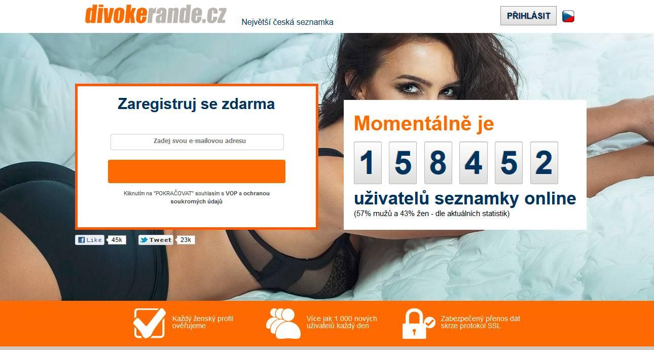 Seznamka divokerande.cz