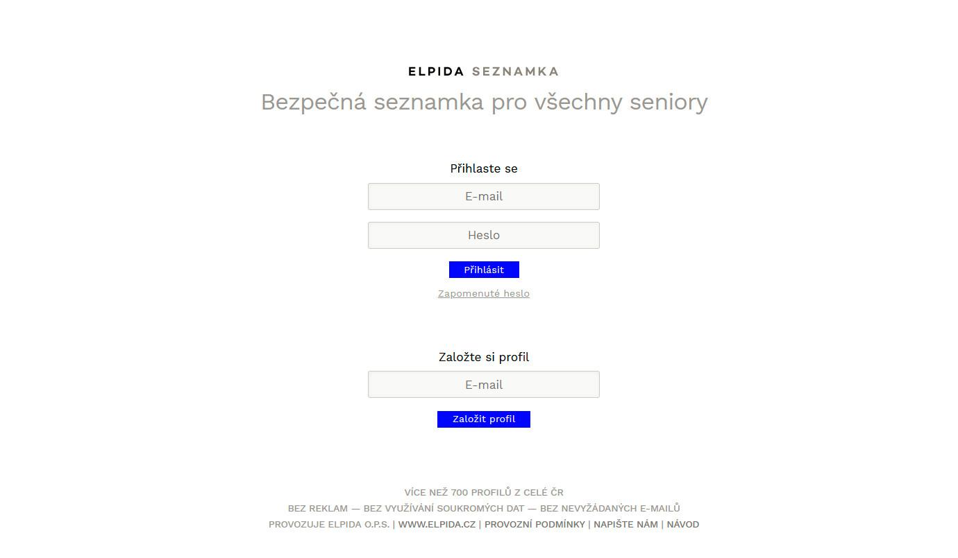 Seznamka elpida.cz