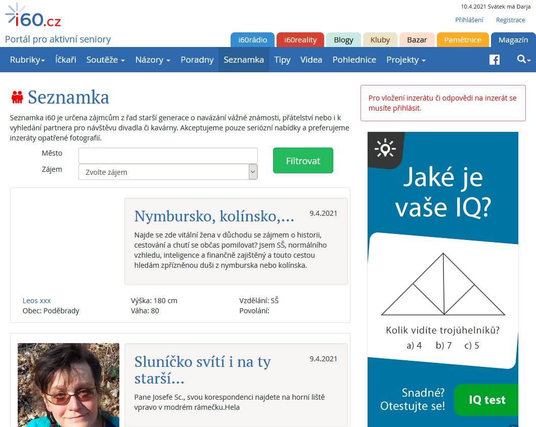 Seznamka i60.cz