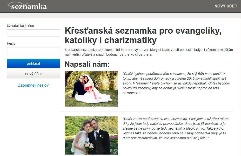 Seznamka krestanskaseznamka.cz