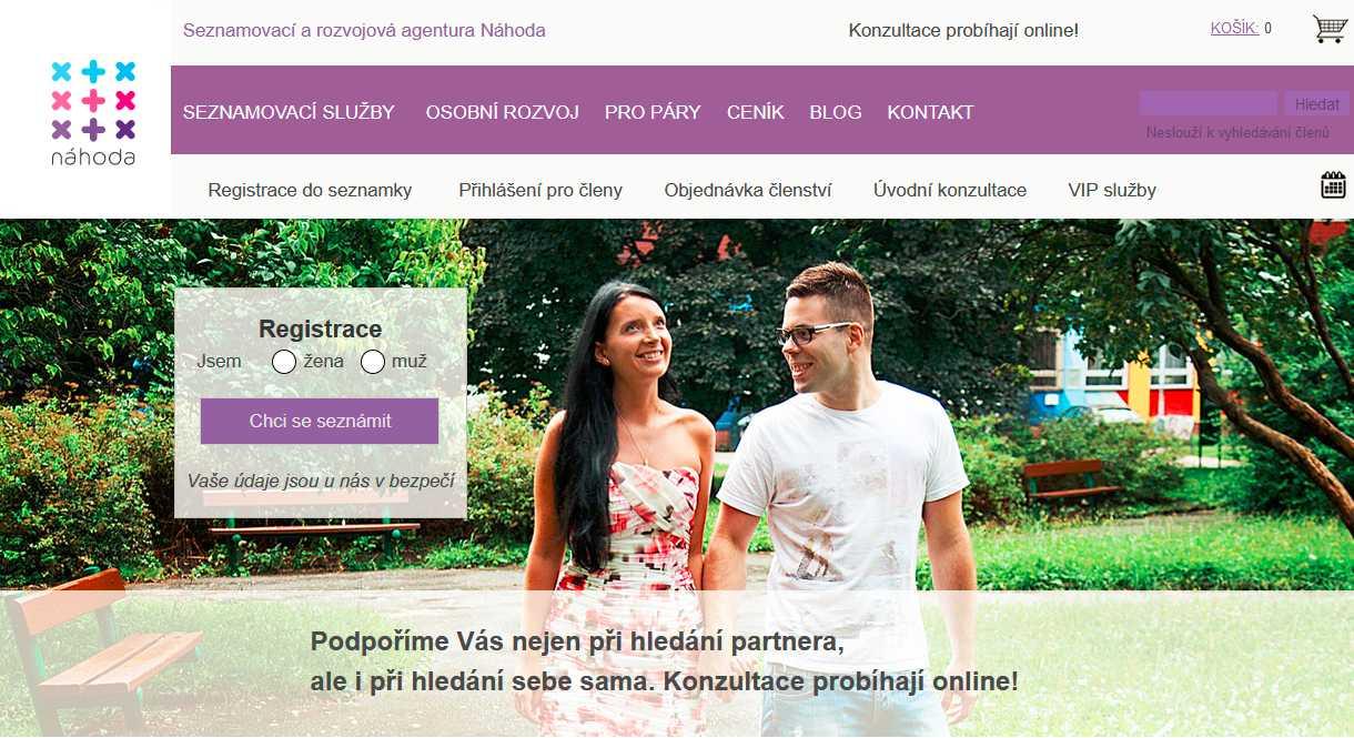 Seznamka nahoda.com
