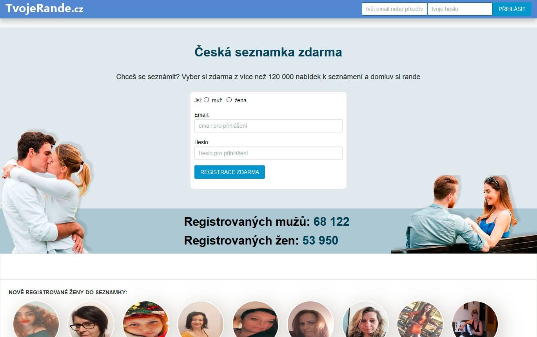 Seznamka tvojerande.cz