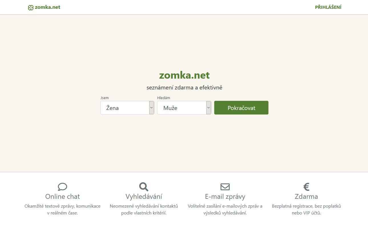 Seznamka zomka.net